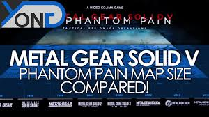 mgs5 africa map metal gear solid v phantom map size compared it s freakin