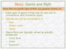 fantasy film genre conventions pre production s tory t he a udience t he s creenwriter and the