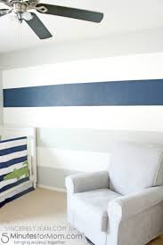 How To Paint An Accent Wall by How To Paint Stripes On A Wall