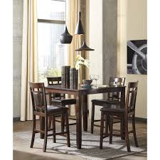 kitchen tables midha furniture gallery ashley 5 pc pub set bennox d384 223