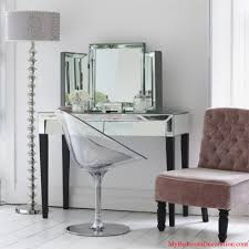 Bedroom Ideas With Mirrored Furniture by Cheap Mirrored Desks Best Home Furniture Decoration