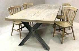 Metal Dining Room Chair Dining Table Metal Dining Table Industrial Tables Chic Set Uk