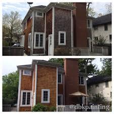 Benjamin Moore Historic Colors Exterior Exterior Cedar Shake Siding Before And After Using Benjamin Moore