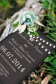 Chalkboard Wedding Programs Rustic Wedding Invitations