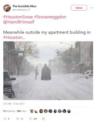 Funny Snow Memes - snow in houston has people busting out hilarious memes houston