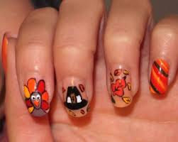 34 best thanksgiving nails images on pinterest holiday nails
