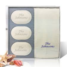 personalized soap personalized name phrase luxury trio soap gift set customgiftpros