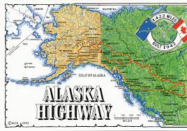 Alaska And Usa Map by Alaska Online Maps Alaska Highway Map Alaska Travel