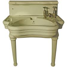 Antique Soapstone Sinks For Sale by Rare English Barber Shop Wash Basin Or Sink By Elegan Barber