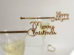 christmas swizzle stir sticks new year decorations merry christmas