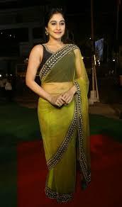 saree market tamil actress regina cassandra in transparent saree