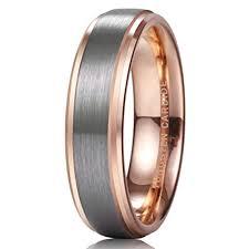Tungsten Comfort Fit Wedding Bands 6mm Unisex Men U0027s Or Women U0027s Tungsten Wedding Band Ring Silver