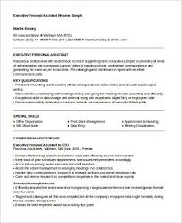 Personal Assistant Resume Templates Personal Assistant Resumes 1598 Plgsa Org