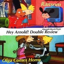 hey arnold ransom and olga come home review amino