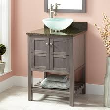 Vessel Sink Vanities For Small Bathrooms Gray Sink Vanity Signature Hardware