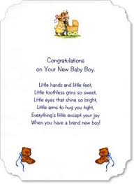 Baby Verses For Baby Shower - new baby verse nbgv002 card sentiments pinterest