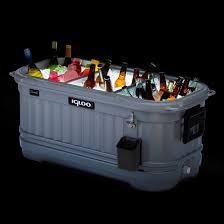 Igloo by Igloo Coolers Party Bar Liddup 125 Qt Cooler Silver Smoke