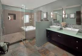 Bathrooms  Cheerful Modern Bathroom Interior Design Also Light - Modern bathroom interior design