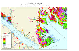 County Map Virginia by Sea Level Rise Planning Maps Likelihood Of Shore Protection In