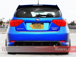 purple subaru wagon rtint subaru impreza wagon 2008 2011 tail light tint film