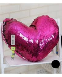 Photo Cushions Online Buy Heart Shape Color Changing Cushions Online In Pakistan Ebuy Pk