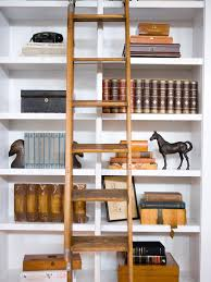 Rolling Bookcase Ladder by 100 Rolling Ladders For Bookshelves Diy Library Ladder 7326