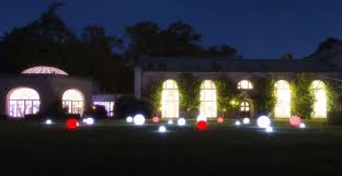 led sphere package for weddings and events from premier