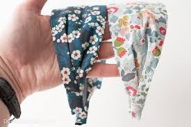 fabric headband diy headbands from liberty of london fabric baby stuff