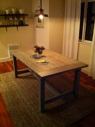 free dining room table plans ana white farmhouse table diy projects