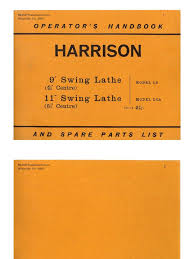 harrison l 5 u0026 l5a manual pdf industrial equipment industries