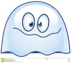 happy ghost clipart ghost emoticon stock vector image 77068860
