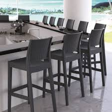 indoor outdoor wicker bar stools