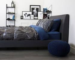 Navy Blue And Gray Bedding 35 Awesome Bedding Ideas For Masculine Bedrooms Digsdigs