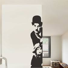 charlie chaplin wall decal home decor famous icons decals zoom
