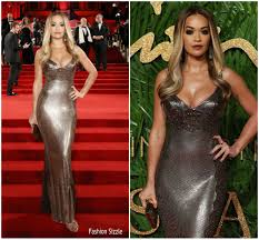 Fashion Sizzlers Archives Fashionsizzle by Rita Ora In Versace At The Fashion Awards 2017 Fashionsizzle