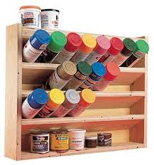 Spice Rack Plano Paint Can Storage Might Be Good For Glue Storage Too Glue Won
