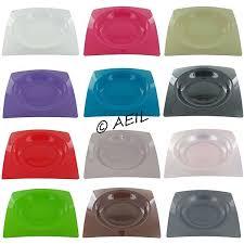 assiette jetable mariage assiette design carrée assiette en plastique rigide chic