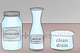 clogged sink baking soda how to unclog a drain with baking soda unclogadrain com