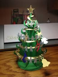 papercrafts and other fun things the perfect desktop christmas tree