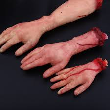 Haunted Halloween Gift by Online Shop Halloween Horror Props Bloody Hand Haunted House Party