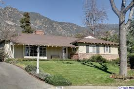 1950s Home Altadena Real Estate Ranch Home In High Demand Neighborhood