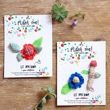 plantable paper diy plantable seed paper cards handmade