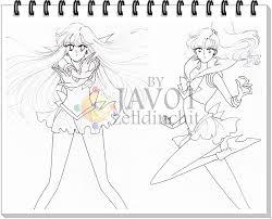 sailor moon next draws sketches by zelldinchit on deviantart