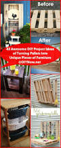 45 awesome diy project ideas of turning pallets into unique pieces