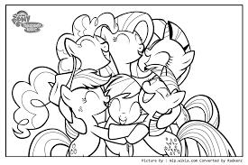 radkenz artworks gallery my little pony big hug coloring page