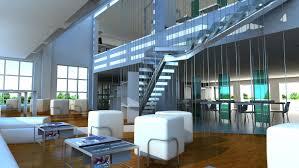 interior renderings of an architecture studio stambol studios