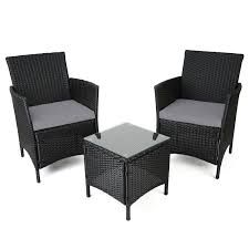 Ebay Patio Furniture Sets - black rattan garden furniture sale descargas mundiales com