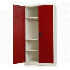 clothes cupboard china 2017 self assembly double door hotel metal locker two doors