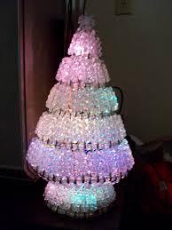 safety pin christmas tree christmas lights decoration