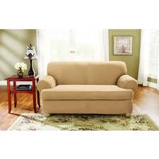 2 piece t cushion sofa slipcover 2 piece t cushion loveseat slipcover
